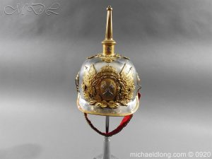 Spanish Cavalry Officer's Helmet model 1909
