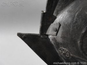 michaeldlong.com 11764 300x225 German Comb Morion 17th century
