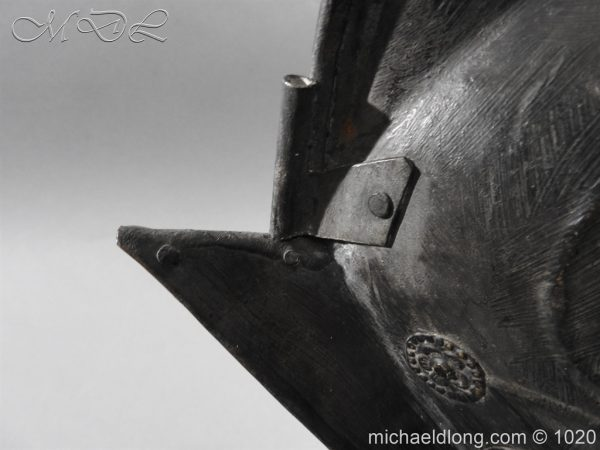 michaeldlong.com 11764 600x450 German Comb Morion 17th century
