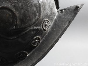 michaeldlong.com 11766 300x225 German Comb Morion 17th century