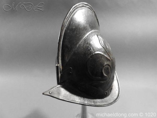 michaeldlong.com 11768 600x450 German Comb Morion 17th century