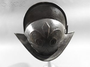 michaeldlong.com 11770 300x225 German Comb Morion 17th century