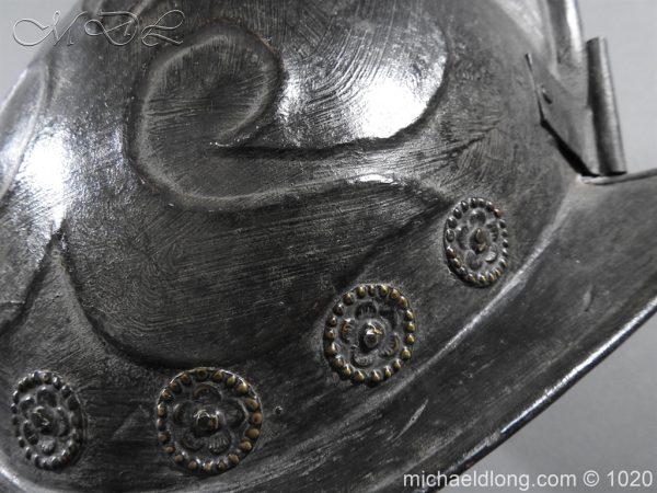michaeldlong.com 11773 600x450 German Comb Morion 17th century