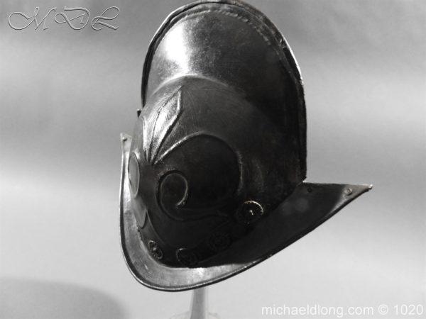 michaeldlong.com 11777 600x450 German Comb Morion 17th century