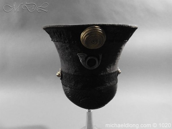 michaeldlong.com 11778 600x450 British Officer's Light Infantry Shako