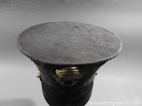 michaeldlong.com 11779 600x450 British Officer's Light Infantry Shako