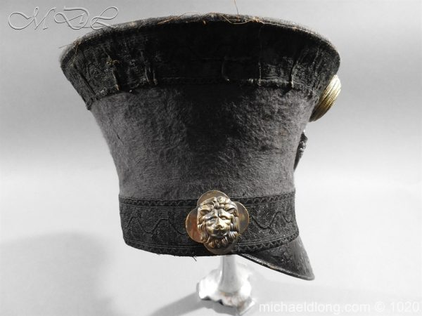 michaeldlong.com 11784 600x450 British Officer's Light Infantry Shako