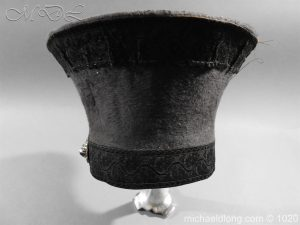 michaeldlong.com 11786 300x225 British Officer's Light Infantry Shako