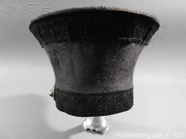 michaeldlong.com 11786 600x450 British Officer's Light Infantry Shako