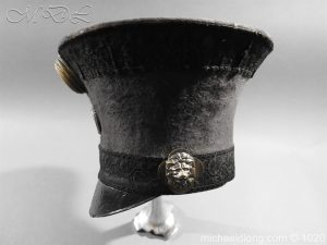 michaeldlong.com 11788 300x225 British Officer's Light Infantry Shako