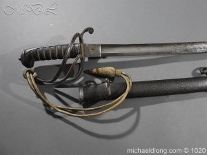 michaeldlong.com 11826 300x225 10th Hussar's Officer's Sword by Wilkinson Sword