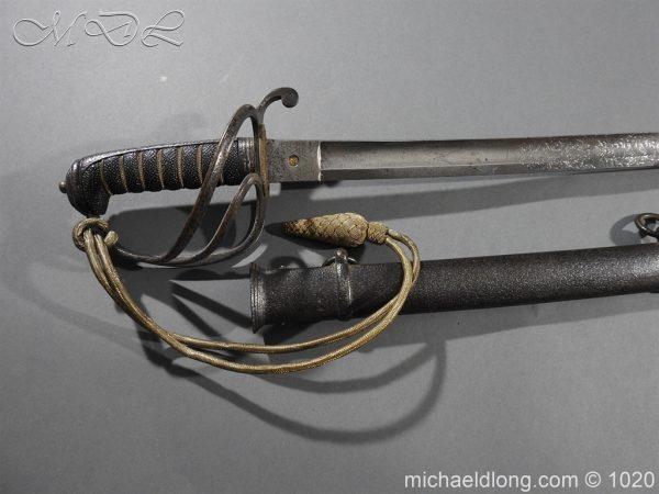 michaeldlong.com 11826 600x450 10th Hussar's Officer's Sword by Wilkinson Sword