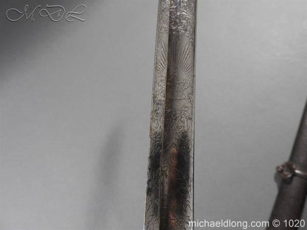 michaeldlong.com 11880 600x450 10th Hussar's Officer's Sword by Wilkinson Sword
