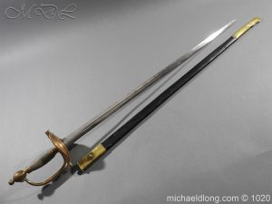 Life Guards Full Dress Officer's Sword
