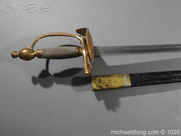 michaeldlong.com 11898 600x450 Life Guards Full Dress Officer's Sword