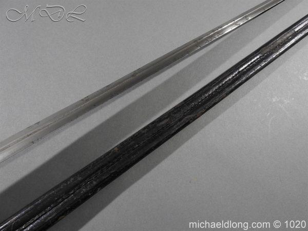 michaeldlong.com 11899 600x450 Life Guards Full Dress Officer's Sword