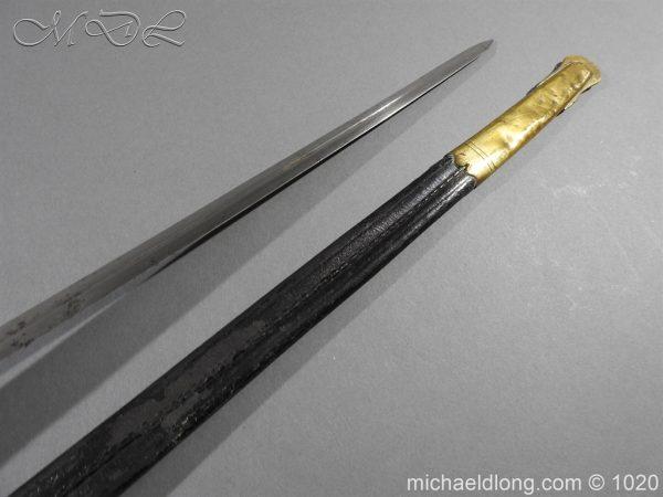 michaeldlong.com 11900 600x450 Life Guards Full Dress Officer's Sword