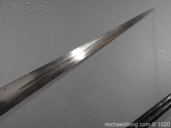 michaeldlong.com 11909 600x450 Life Guards Full Dress Officer's Sword