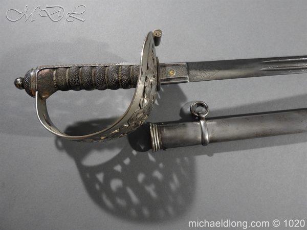 michaeldlong.com 12055 600x450 Scottish Field Officer's Sword Highland Light Infantry