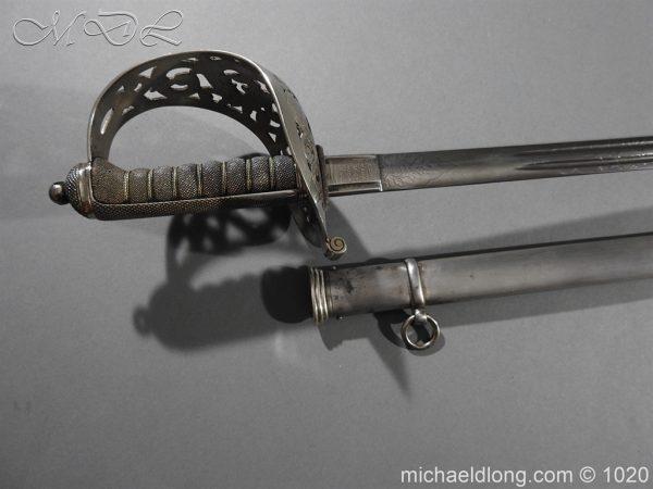 michaeldlong.com 12059 600x450 Scottish Field Officer's Sword Highland Light Infantry
