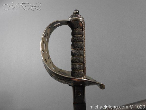 michaeldlong.com 12078 600x450 Scottish Field Officer's Sword Highland Light Infantry