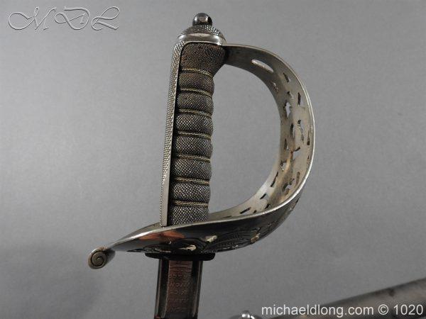 michaeldlong.com 12080 600x450 Scottish Field Officer's Sword Highland Light Infantry