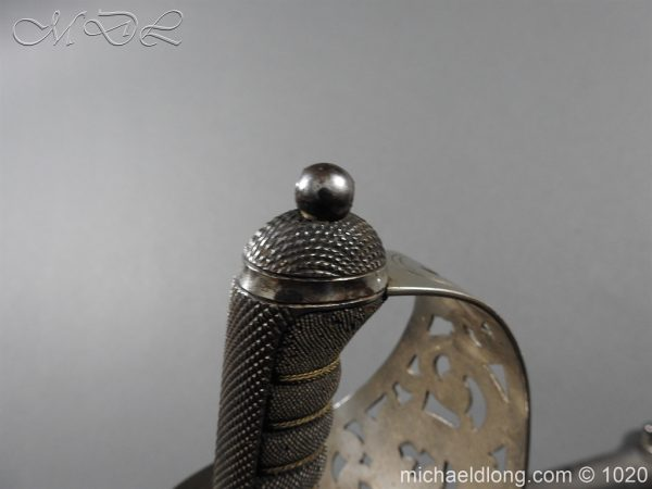 michaeldlong.com 12082 600x450 Scottish Field Officer's Sword Highland Light Infantry