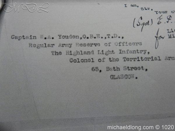 michaeldlong.com 12091 600x450 Scottish Field Officer's Sword Highland Light Infantry