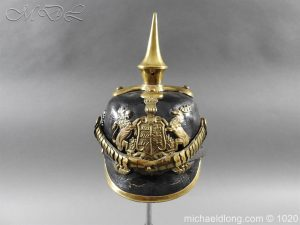 Imperial German Württemberg Officer Pickelhaube