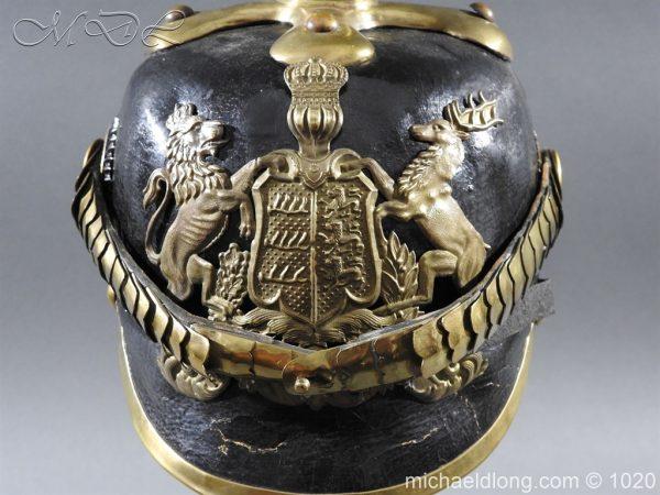 michaeldlong.com 12112 600x450 Imperial German Württemberg Officer Pickelhaube