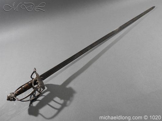 English Mortuary Sword c1650