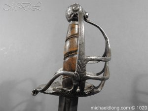 michaeldlong.com 12208 300x225 English Mortuary Sword c1650