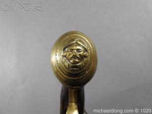 michaeldlong.com 12229 300x225 Brass Mounted Flintlock Holster Pistol By Barbar of London