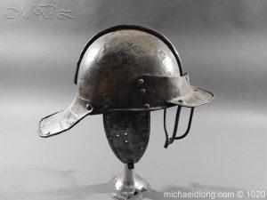 michaeldlong.com 12261 300x225 17th Century English Civil War Harquebusier's Lobster Tail Helmet