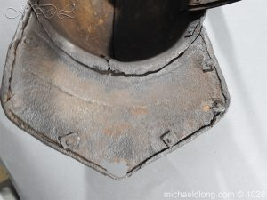 michaeldlong.com 12272 300x225 17th Century English Civil War Harquebusier's Lobster Tail Helmet