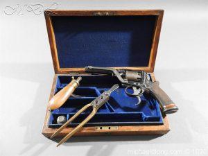 Tranter Cased 80 Bore Perussion Revolver