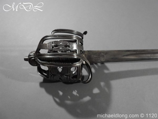 michaeldlong.com 14030 600x450 English Horseman Sword by Harvey