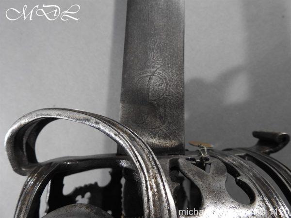michaeldlong.com 14040 600x450 English Horseman Sword by Harvey