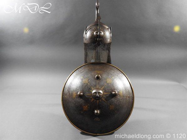 michaeldlong.com 14180 600x450 Persian Decorated Armour Mid 19th century