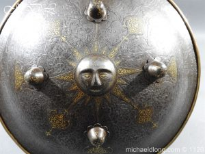 michaeldlong.com 14182 300x225 Persian Decorated Armour Mid 19th century