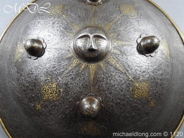 michaeldlong.com 14183 600x450 Persian Decorated Armour Mid 19th century