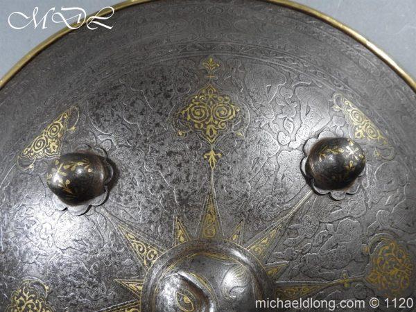michaeldlong.com 14186 600x450 Persian Decorated Armour Mid 19th century