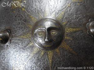 michaeldlong.com 14187 300x225 Persian Decorated Armour Mid 19th century