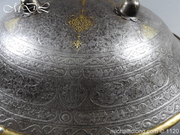 michaeldlong.com 14188 600x450 Persian Decorated Armour Mid 19th century