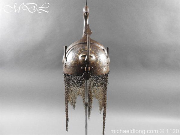 michaeldlong.com 14196 600x450 Persian Decorated Armour Mid 19th century