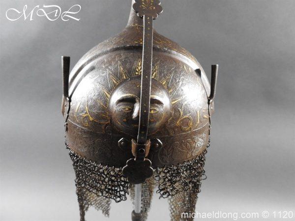 michaeldlong.com 14197 600x450 Persian Decorated Armour Mid 19th century