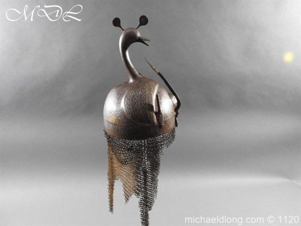 michaeldlong.com 14198 600x450 Persian Decorated Armour Mid 19th century