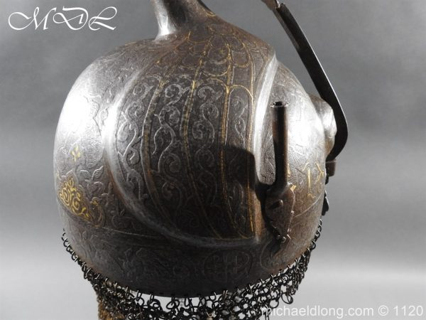 michaeldlong.com 14200 600x450 Persian Decorated Armour Mid 19th century