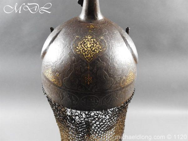 michaeldlong.com 14202 600x450 Persian Decorated Armour Mid 19th century