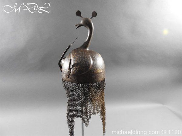 michaeldlong.com 14203 600x450 Persian Decorated Armour Mid 19th century